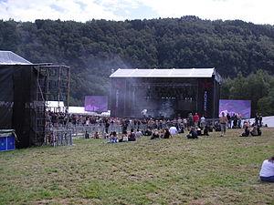 Norway Rock Festival - Image: Norway Rock Festival concert area