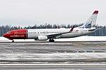 Norwegian (J.C.H. Ellehammer Livery), LN-NII, Boeing 737-8JP (45939554424).jpg