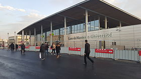 Image illustrative de l'article Gare de Nanterre-Université