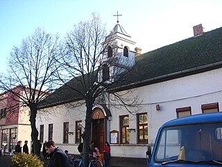 Nova Pazova Town in Vojvodina, Serbia