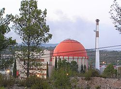 Nuclear power station in Almonacid de Zorita (Spain).jpg