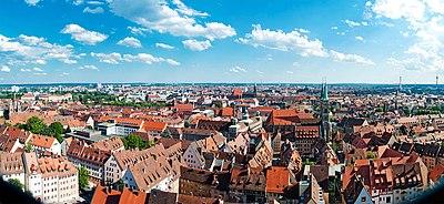 Nuremberg, view from Sinwell Tower 2012.06.16 - panoramio.jpg