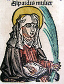 Nuremberg chronicles - Alpaidis, Holy Woman and Seer from Cudota (CCVv).jpg