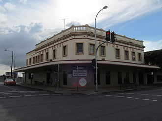 Albion, Queensland - Albion Hotel, 2013, listed on the Brisbane Heritage Register