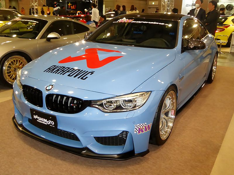 File:OSAKA AUTO MESSE 2015 (277) - BMW M4 Coupé (F82) tuned by HASHIMOTO CORPORATION.JPG