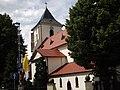 Oborniki - kościół NMP Wniebowziętej ( XV - XVI w. ) - panoramio.jpg