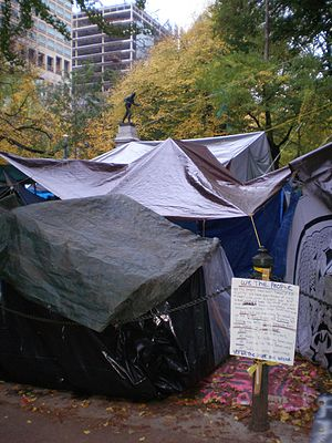 English: Occupy Portland, November 2, 2011