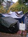 Occupy Portland November 2, tents.jpg