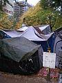 Occupy Portland November 2, tents.jpg