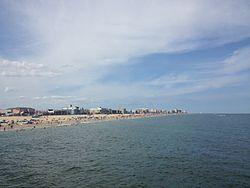 Ocean City in August 2013