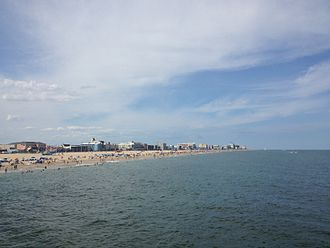 Ocean City, Maryland - Ocean City in August 2013
