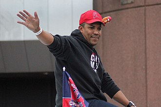 Octavio Dotel - Dotel during the 2011 World Series parade