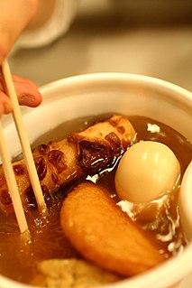 <i>Oden</i> Japanese dish