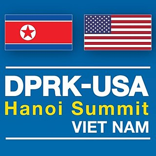 2019 North Korea–United States Hanoi Summit Meeting between Kim Jong-un and Donald Trump