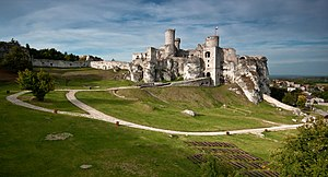 Ogrodzieniec - The castle ruins at Ogrodzieniec
