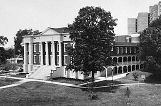 Old City Hall (Knoxville) - Old City Hall, from a 1983 HABS photograph