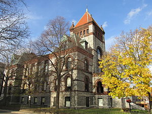Hampshire County, Massachusetts - Image: Old Hampshire County Courthouse, Northampton MA