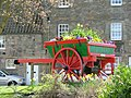 Old Horse drawn Cart with Flowers. - panoramio.jpg