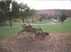 Old Plow at Mt. Pisgah State Park.JPG