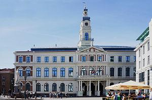 Vecrīga - Image: Old Riga Vecrīga Town Hall