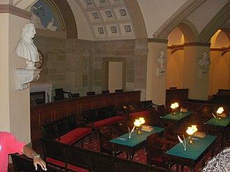 Old Supreme Court Chamber - Image: Old US Supreme Court 2