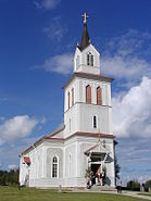 Old church in Åsarna