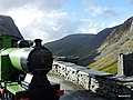 Old narrow gauge engine at the top of the Honister Pass. - panoramio.jpg