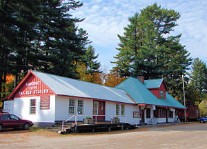 Bancroft, Ontario - Old train station (in 2006)