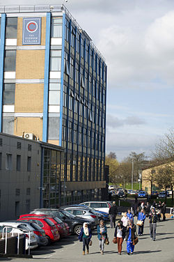 Oldham College Main Entrance.JPG