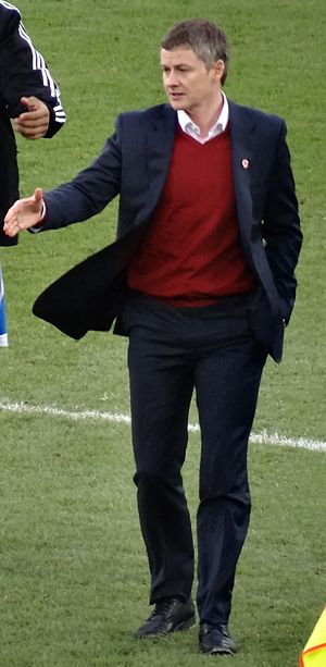 Ole Gunnar Solskjær - Solskjær as Cardiff City manager in February 2014