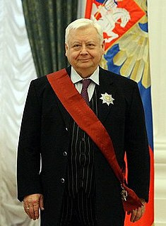 Oleg Tabakov Soviet and Russian actor and theatre director
