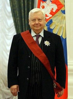 Oleg Tabakov - Image: Oleg Tabakov new
