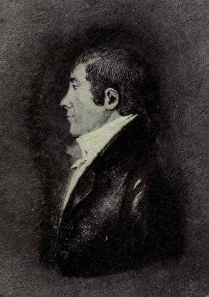 Oliver Holden - Portrait of Holden by J. C. Rauschner, ca. 1810