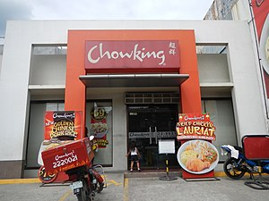 Jollibee Foods Corporation - Chowking, one of the company's fast food chain brands.
