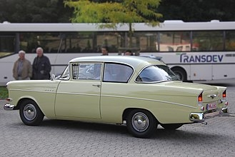 Opel Rekord P1 - The stripped down Opel 1200 appeared at the end of 1959 and was offered until 1962, two years after the Rekord on which it was based had been replaced.