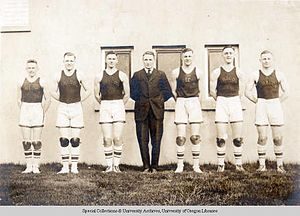 Oregon Ducks men's basketball - 1919 Oregon Ducks men's basketball team