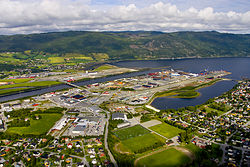 View of Orkanger