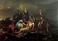 Orlai Discovery of the Body of King Louis II 1851.jpg