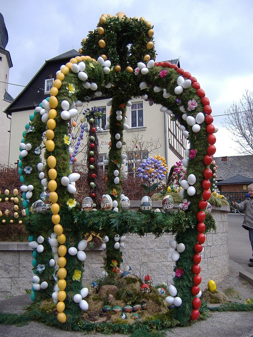 Osterbrunnen Sachs