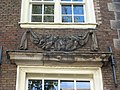 Oudezijds Achterburgwal 185 detail 4 of 4 from left to right.JPG