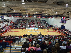 """Southern Indiana Screaming Eagles - USI's Physical Activities Center. Known also as """"PAC Arena"""" or simply """"The PAC"""""""