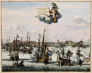 Dutch Malabar - Capture of Cochin in 1663.