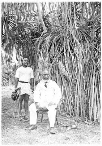 Aweida - King Aweida of Nauru.