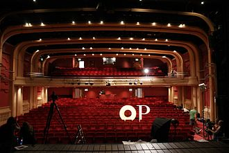 Oxford Playhouse - The inside of the auditorium