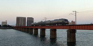 Nippō Main Line railway line in Japan