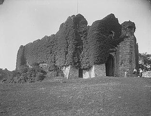Oystermouth Castle nr Swansea