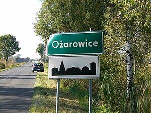 Ożarowice - Nameplate from Ożarowice