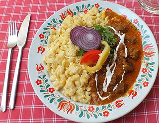 Pörkölt Hungarian stew