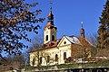 Pörtschach Pfarrkirche hl Johannes der Täufer 21012012 333.jpg