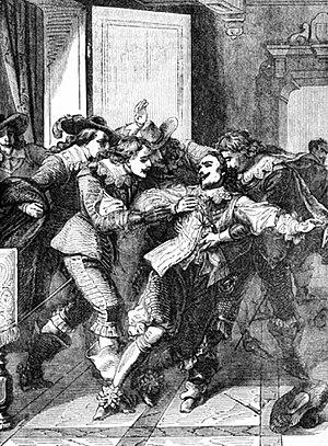 John Felton (assassin) - Image: P138 Assassination of Buckingham